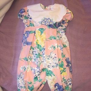 Floral One-piece Romper